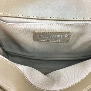 CHANEL Bags - Boy Paris Dallas Le Cc Flap Leather Shoulder Bag